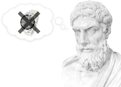 Epicurus would not have owned a rolex